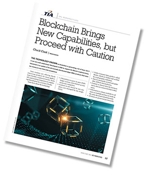 Block chain Article in Logistics Journal